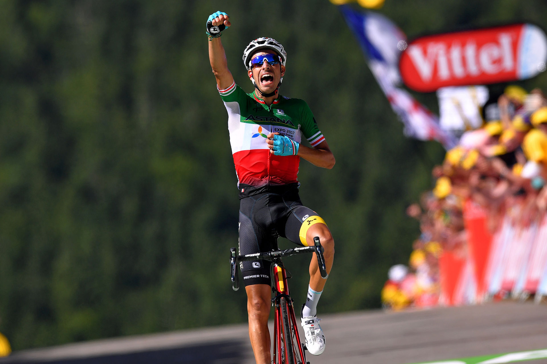 Fabio Aru, 2017 Italian National Champion